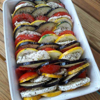 tian de légumes d'été recette