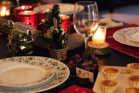 table Noël Elise
